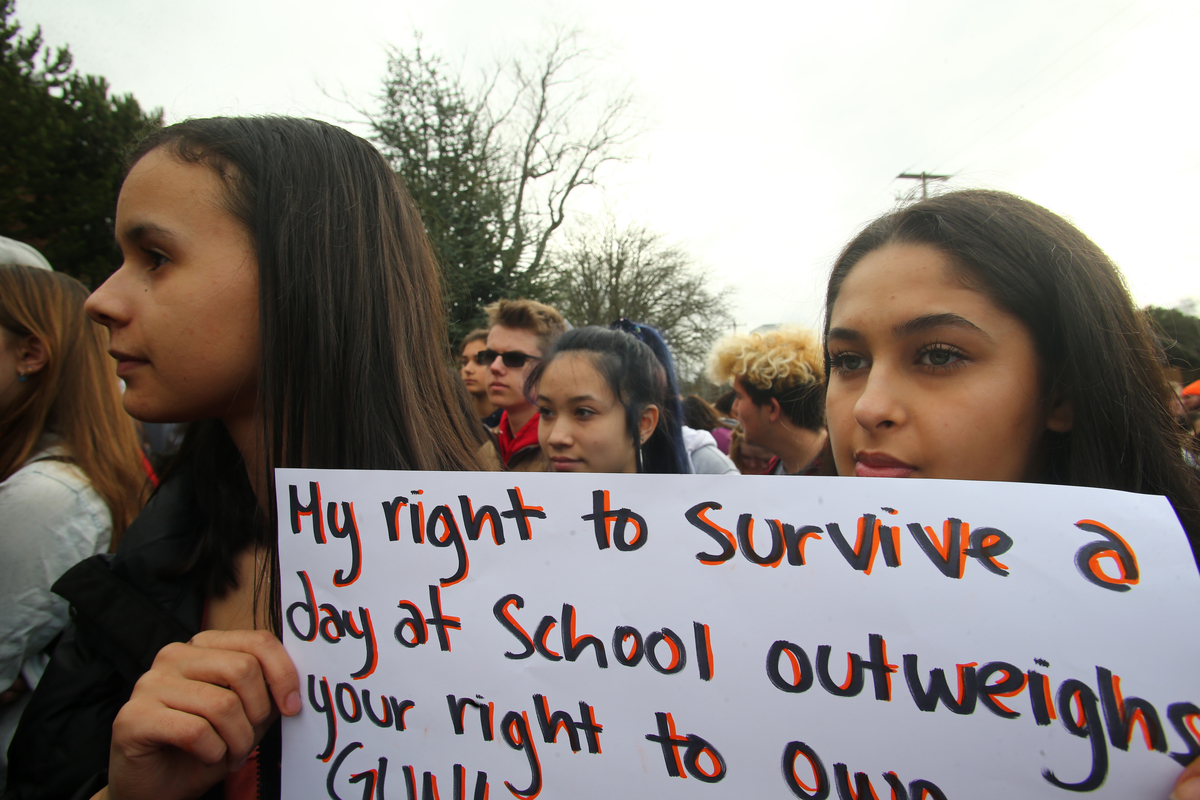 Arkansas Students Protested School Violence. Then This Happened.