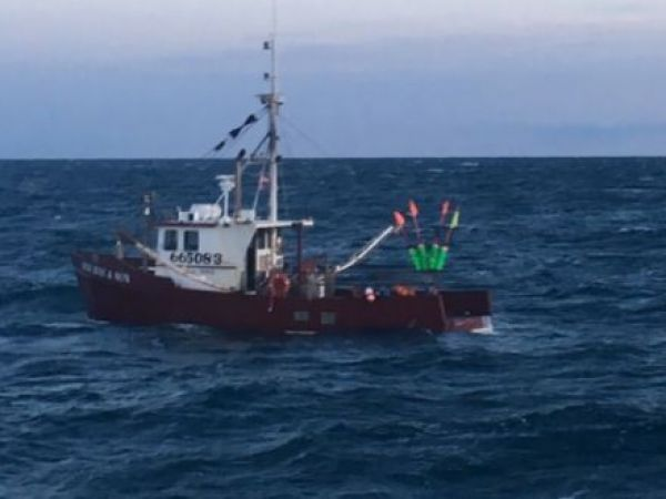 Maine Lobstermen Saved From Sinking Boat