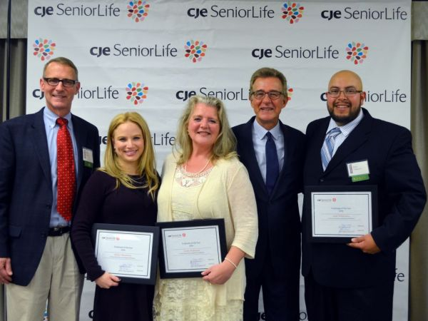 CJE SeniorLife Names Three Employees of the Year for 2016 - Wilmette ...