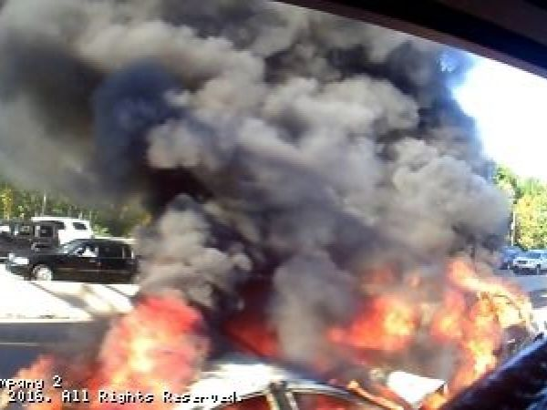 Photos Route 80 Cars Engulfed In Flames Saturday Wayne