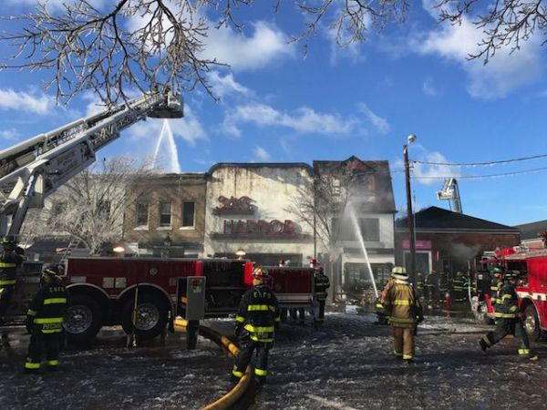 sag harbor fire historic theater gutted community vows