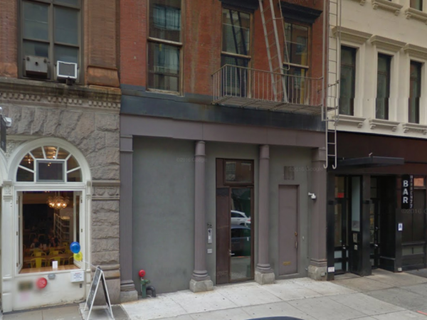Someone just died in the 20 million mansion for sale at for Tribeca townhouse for sale