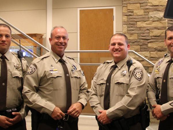 Sheriff's Deputies Receive Life Saving Awards - Woodstock ...