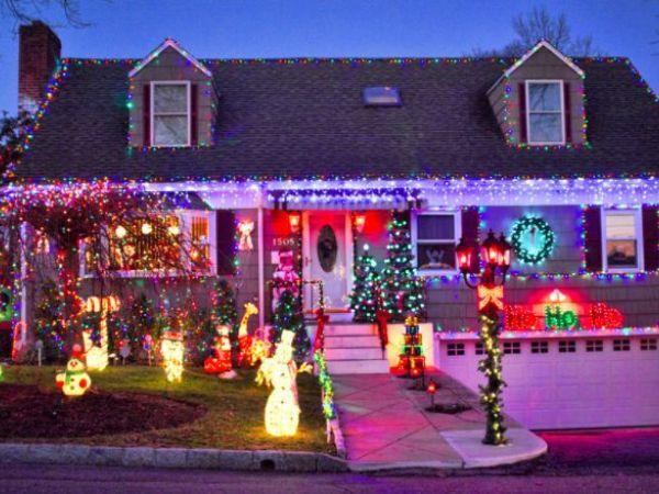 christmas light show brooklyn ct post