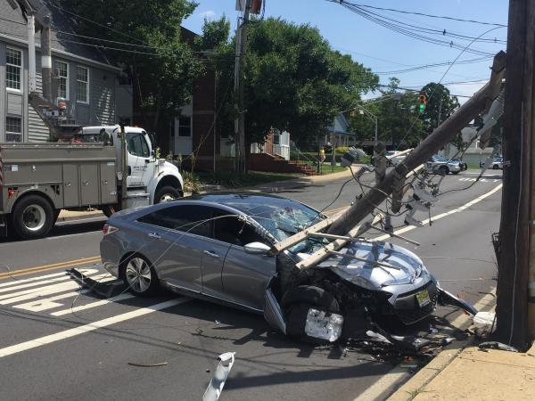 Woman Charged With Dui After Downtown Toms River Crash