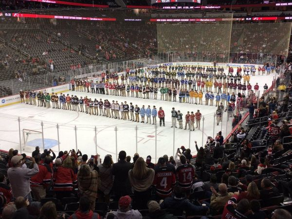 NJ H.S.: Central Regional's High School Ice Hockey Captains Honored By NJ Devils