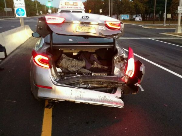 Lacey Man Involved In Rear End Crash On Route 37 That