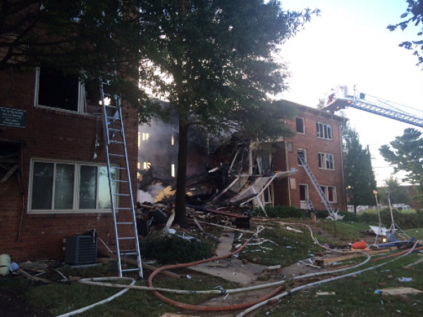 maryland apartment explosion fifth victim found in rubble of silver spring complex update. Black Bedroom Furniture Sets. Home Design Ideas