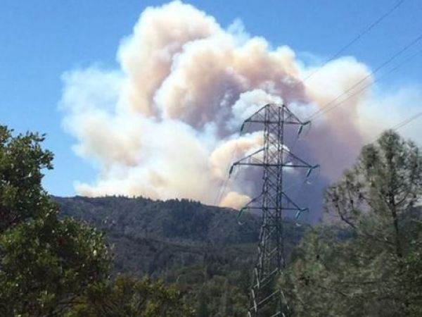 California mountain communities evacuated as wildfire grows