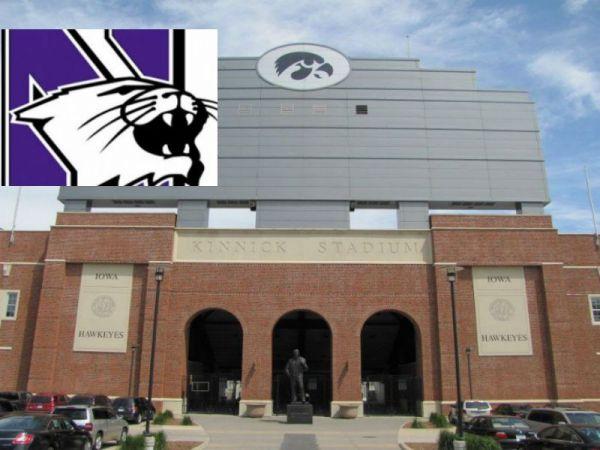 Northwestern surprises Iowa, 38-31