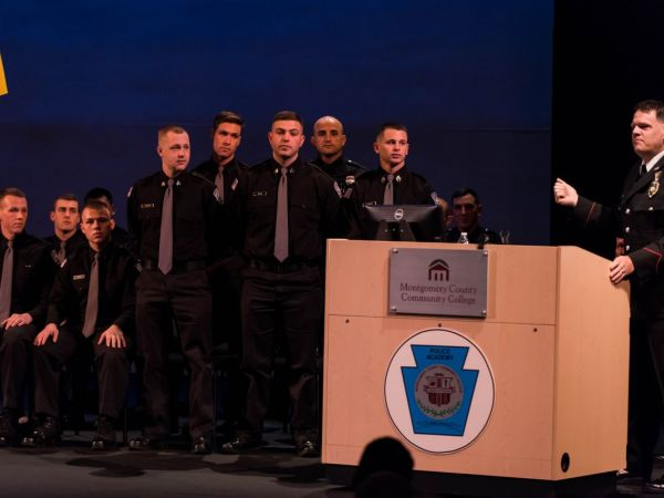Wynnewood Man Graduates From Montgomery County Municipal Police Academy Ardmore Pa Patch