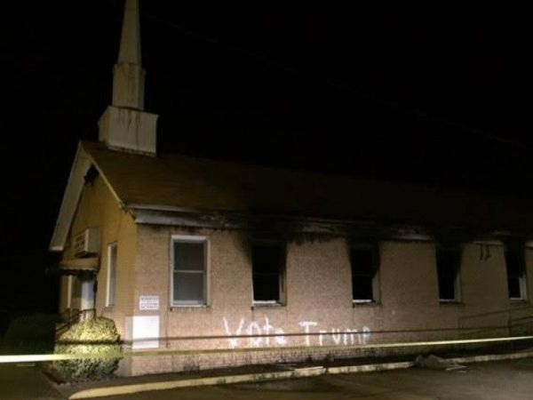 'Person of interest' interviewed in church fire