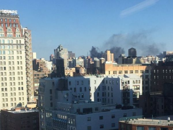 Fire At NYU Medical Center Sends Smoke Across Manhattan, East River