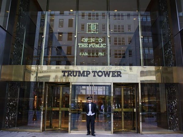 Trump Tower security is costing nearby businesses