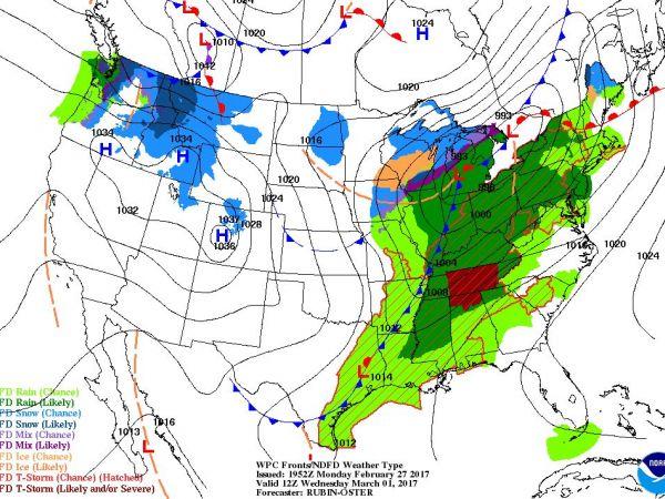 Wed Map Ri Weather Mild Temperatures Thursday Showers Rain