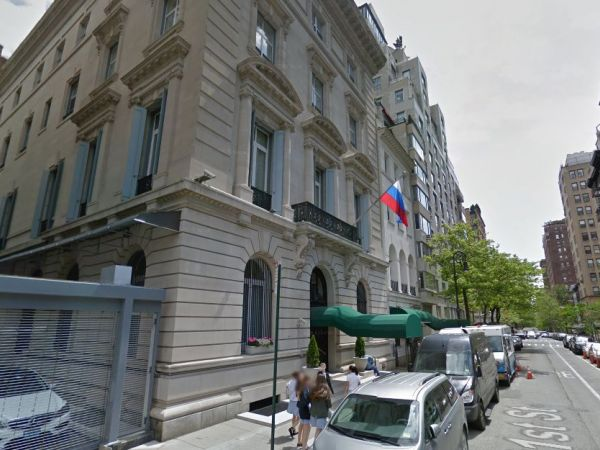 Man found dead with head injuries inside Russian Consulate