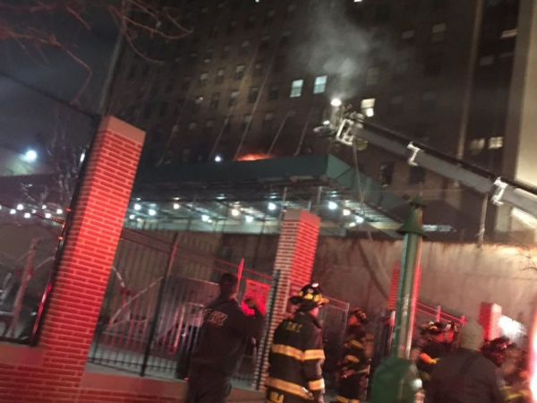 Manhattan high-rise fire injures 24, including young girl, firefighters