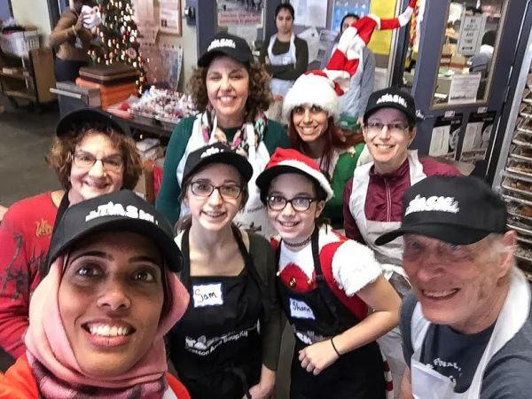 South Brunswick Residents Volunteer at Soup Kitchen