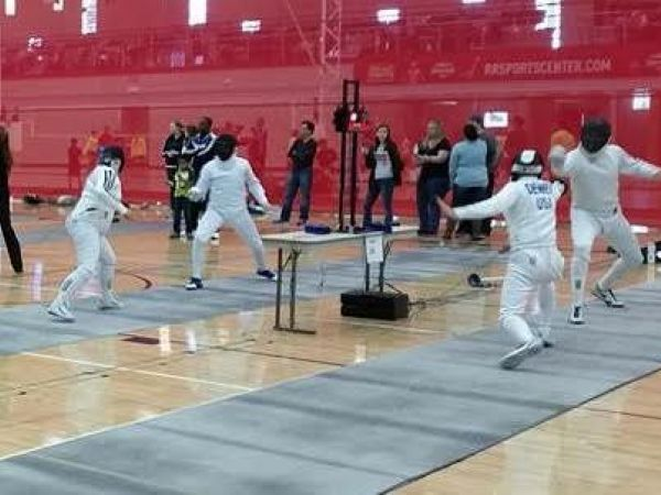 Round Rock Hosting Major Fencing Competition Allowing