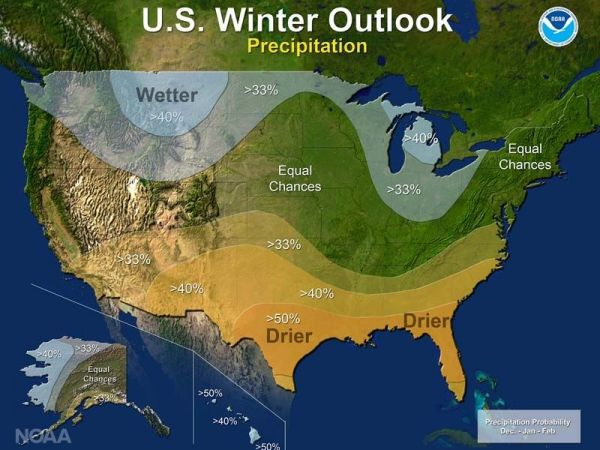 Government winter outlook has warm look