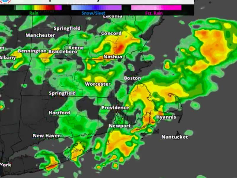 Radarsim Ri Weather Forecast Heavy Rain Thunderstorms Timeline