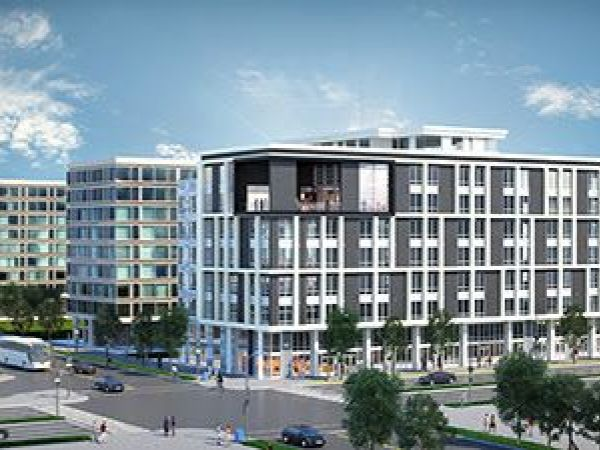 Construction begins on apartment complex on southwest dc for Buy apartment in washington dc