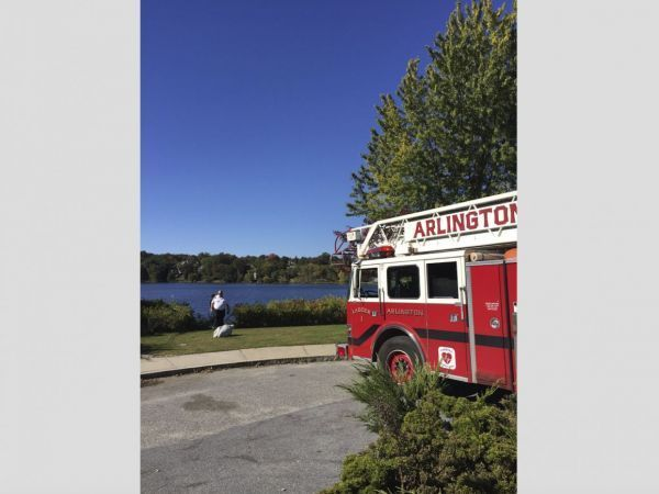 MA woman rescued from sinking SUV