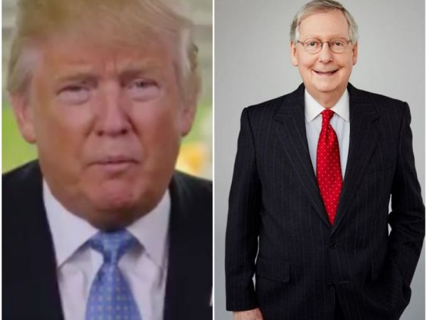 Donald Trump Loses Mitch McConnell, Who Wants to Dig Into Russian Hacking
