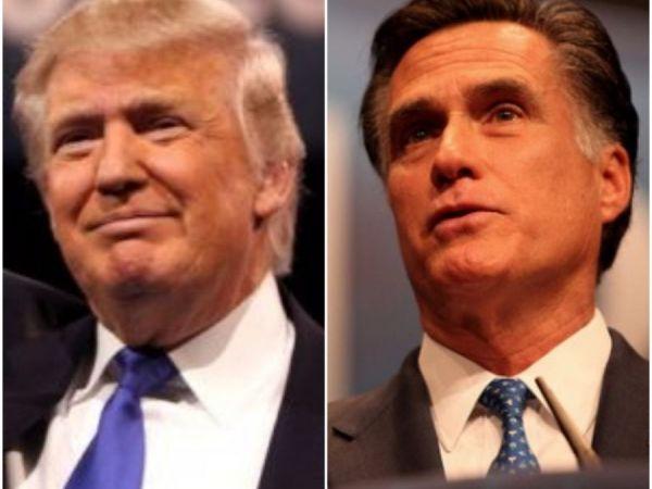 Trump, Romney set to meet in New Jersey