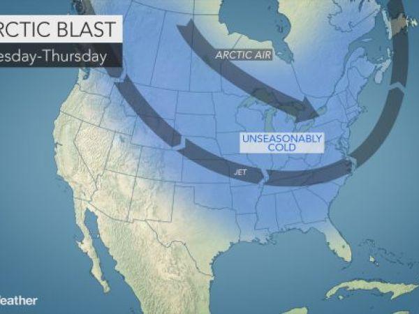 Arctic blast this weekend