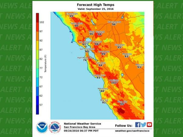 National Weather Service Issues Heat Advisory Through Monday