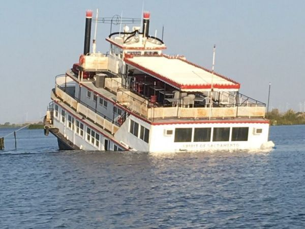 pollution removal begins for capsized spirit of
