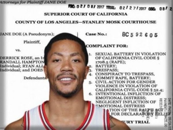 Friend says Derrick Rose has faulty memory