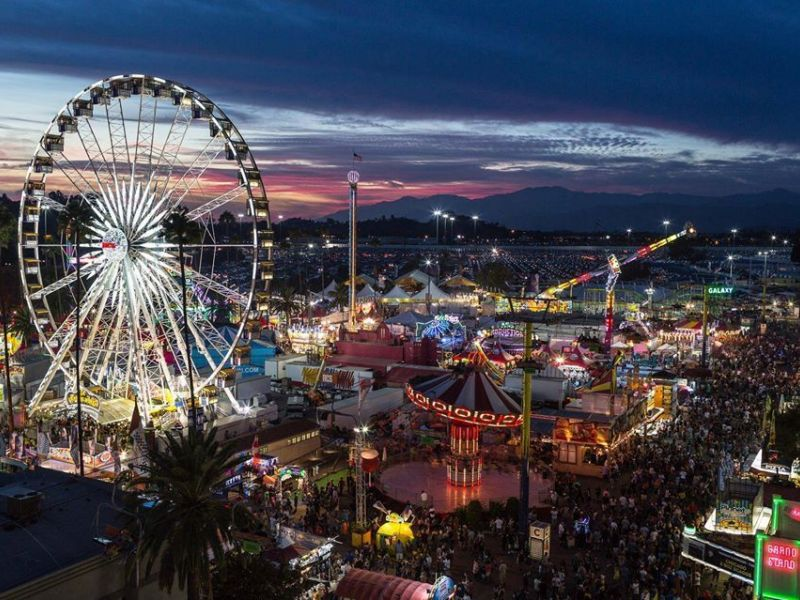 L A County Fair Ends With Higher Attendance Monrovia