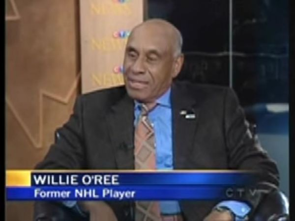 Willie O'Ree, NHL's First Black Player, Honored by L.A ...