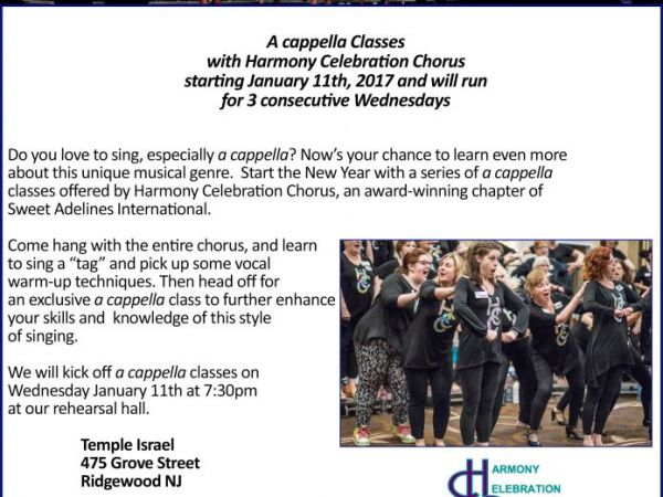Learn to sing a cappella