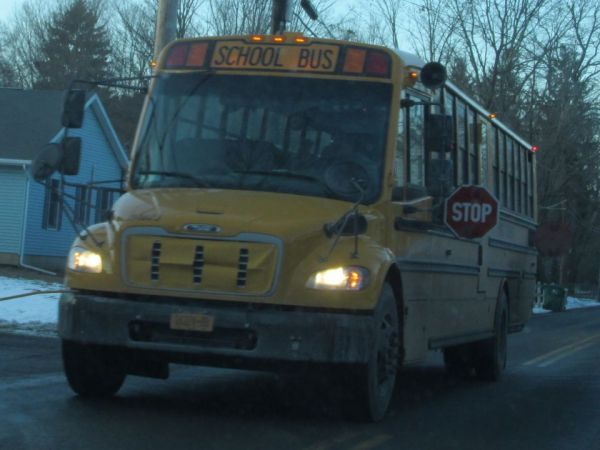 Three Students Hit By Pickup at Bus Stop in Otsego