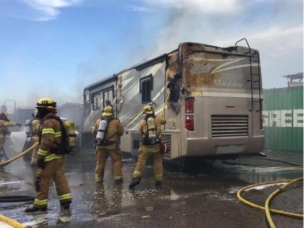 Garden Grove Three Alarm Fire Causes 1 Million In Damage