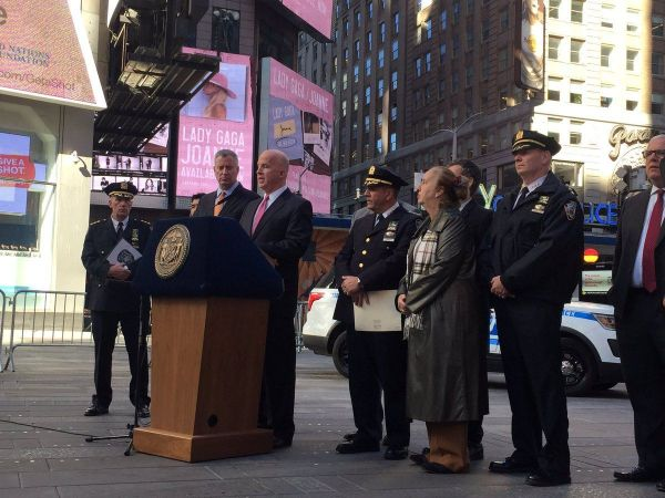 NYC police plan show of force for Election Day