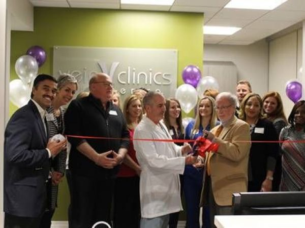 vein clinics of america celebrates ribbon cutting and opening of second clinic location in