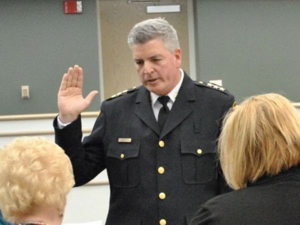 Cunningham Sworn In As Woodridge Chief Of Police
