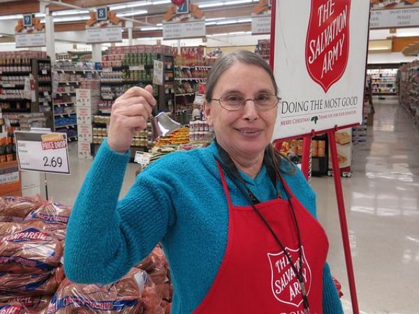 Salvation Army slightly behind Red Kettle fundraiser pace
