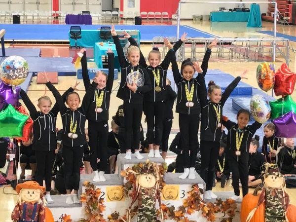 rising stars gymnastics meet 2012