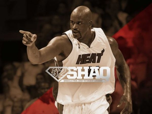 Heat will retire Shaq's No. 32 jersey on December 22