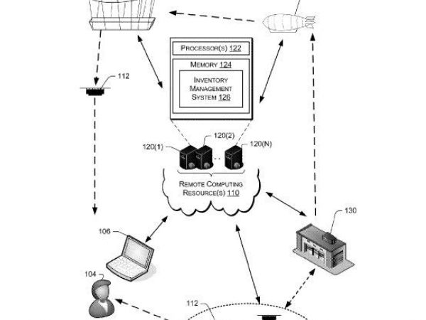Amazon Patents Flying Warehouse That Delivers Parcels In Minutes Via Drones