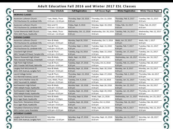 Free Classes For Adults 10