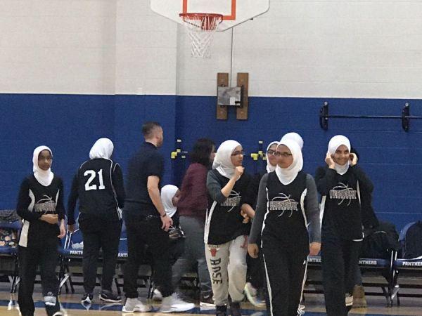 Morton Grove Team First Muslim Girls Basketball Team In