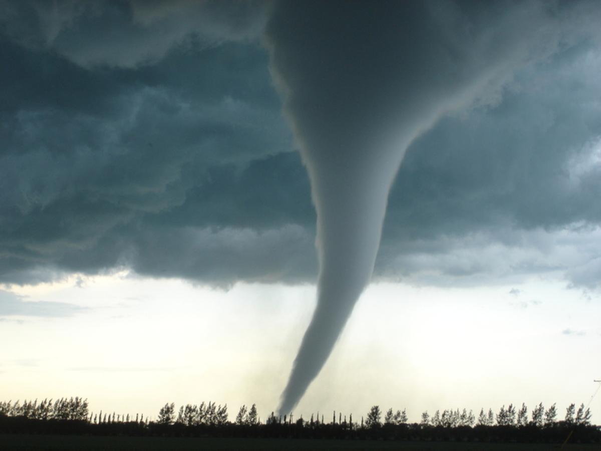 Watch: Couple Records Tornado Suck Up, Hurl Truck Into Field