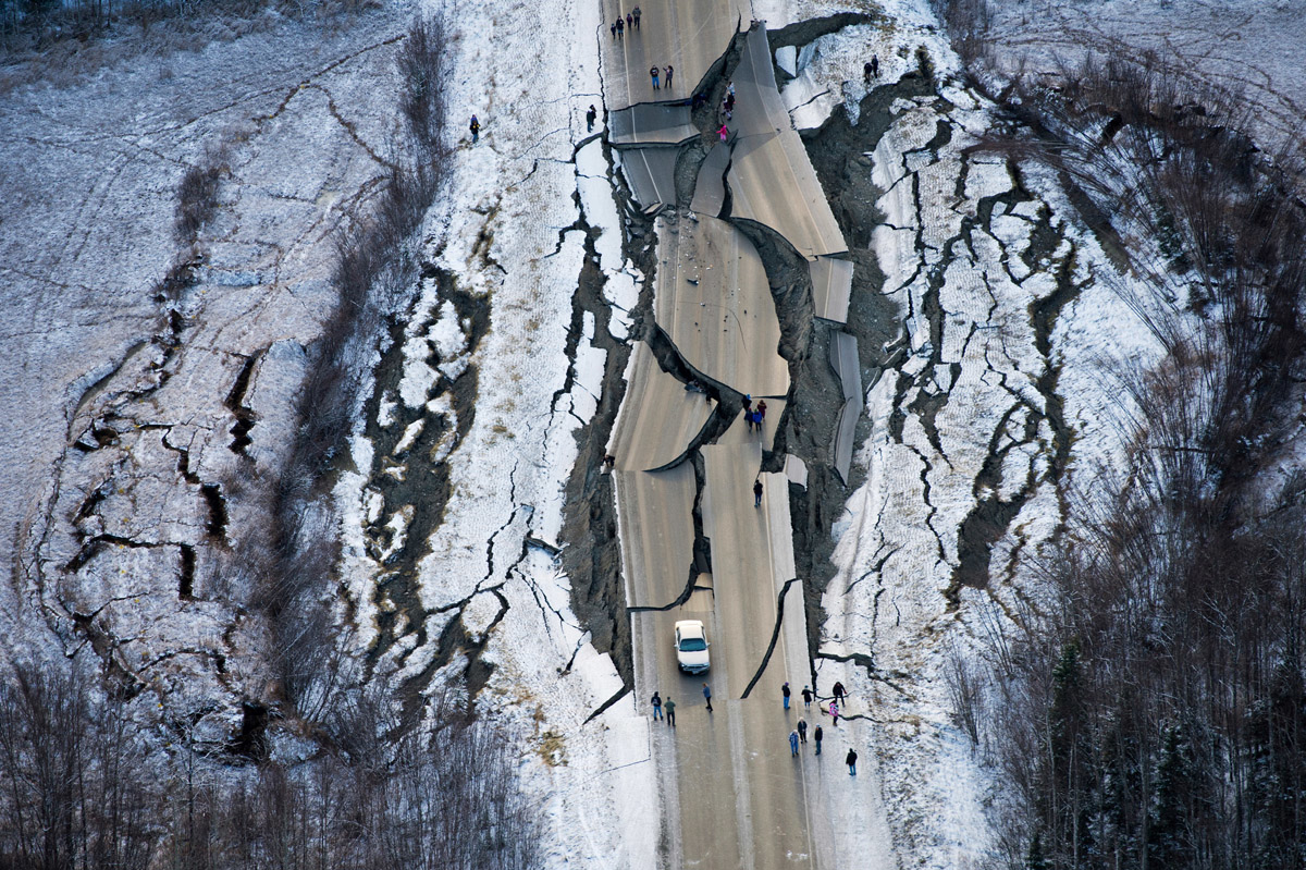Alaska Earthquake Update: Surreal Photos Of Anchorage Aftermath