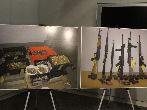 Man arrested in Islamic center threats had guns, ammo